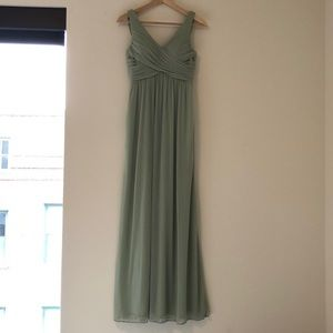 Azazie Oceana Bridesmaid Dress in Dusty Sage